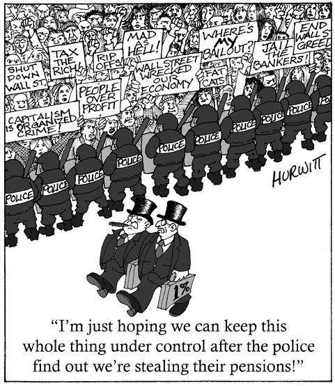 police stealing pensions