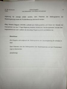 Bundes dann bayerischer Landtagspetition - GEZ produzierte Sendungen - Verweildauer Mediathek - IMG_20150613_114818