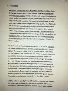 Bundes dann bayerischer Landtagspetition - GEZ produzierte Sendungen - Verweildauer Mediathek - IMG_20150613_114830